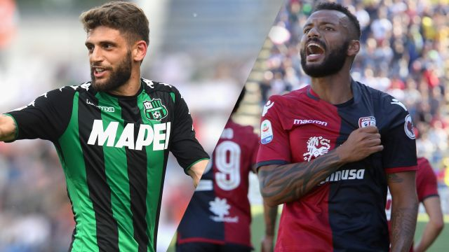Sassuolo vs. Cagliari