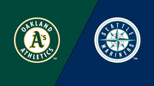 Oakland Athletics vs. Seattle Mariners