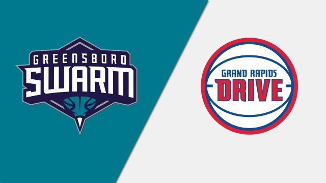 Greensboro Swarm vs. Grand Rapids Drive