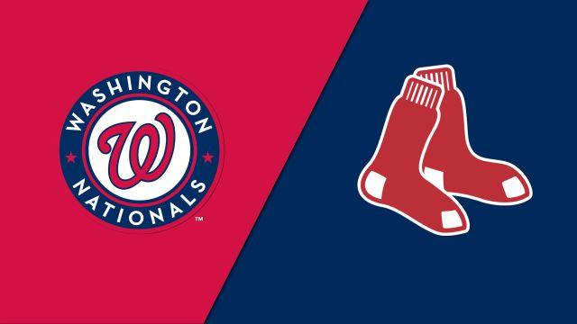 Washington Nationals vs. Boston Red Sox