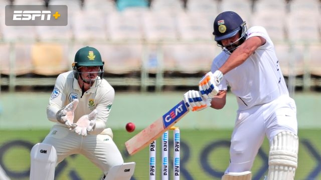 India vs. South Africa (1st Test - Day 2)
