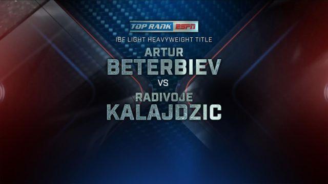 Top Rank Boxing on ESPN: Beterbiev vs. Kalajdzic Official Press Conference