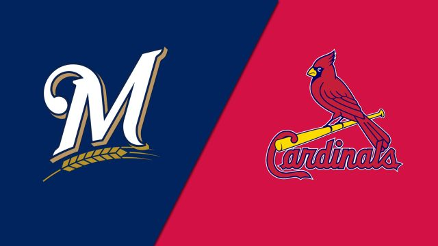 Milwaukee Brewers vs. St. Louis Cardinals