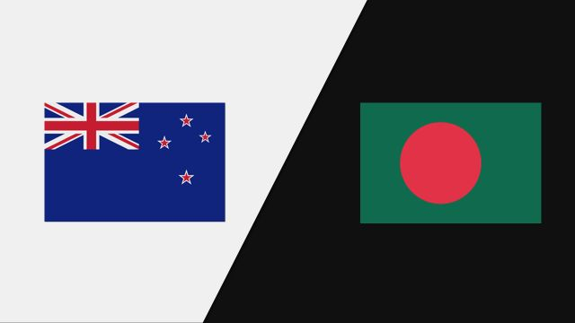 New Zealand vs. Bangladesh (1st Test - Day 3)