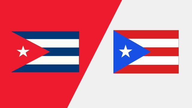 Cuba vs. Puerto Rico (FIBA World Cup 2019 Qualifier)
