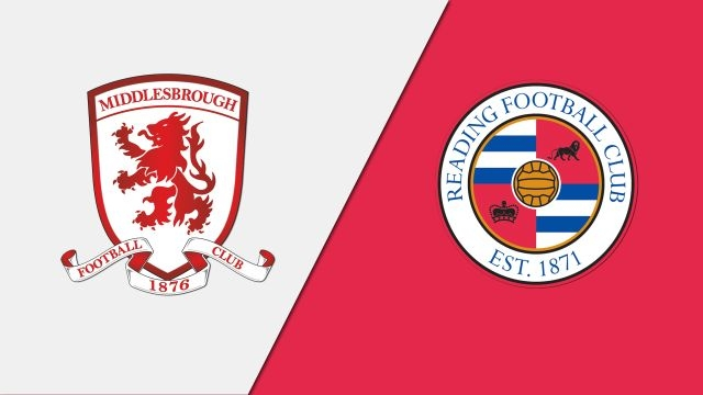 Middlesbrough vs. Reading (English League Championship)