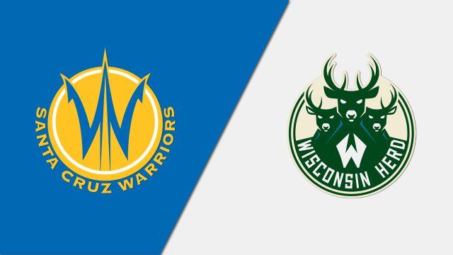 Santa Cruz Warriors vs. Wisconsin Herd