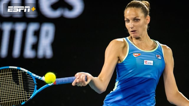 (2) Pliskova vs. (30) Pavlyuchenkova (Women's Third Round)