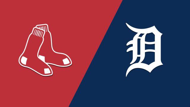 Boston Red Sox vs. Detroit Tigers