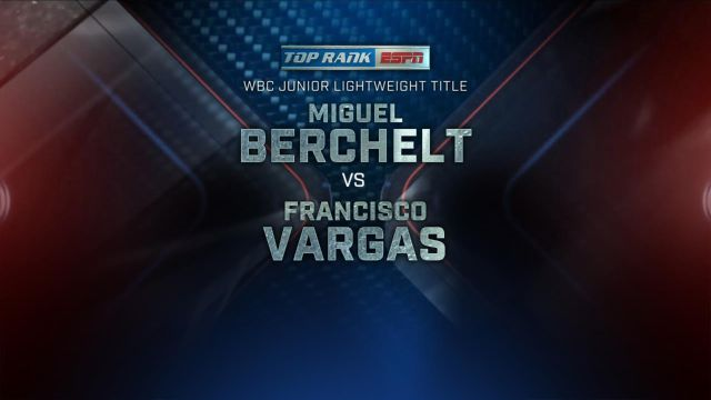 Top Rank Boxing on ESPN: Berchelt vs. Vargas Weigh-In