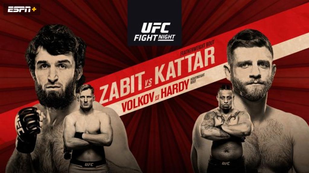 UFC Fight Night: Zabit vs. Kattar