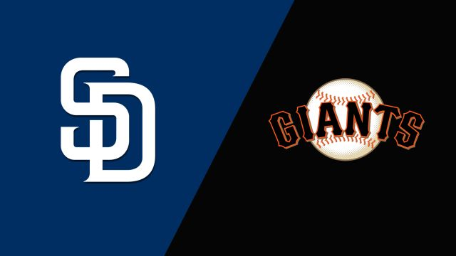 San Diego Padres vs. San Francisco Giants