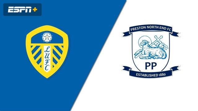 Leeds United vs. Preston North End (English League Championship)