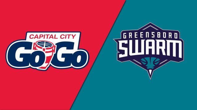Capital City Go-Go vs. Greensboro Swarm