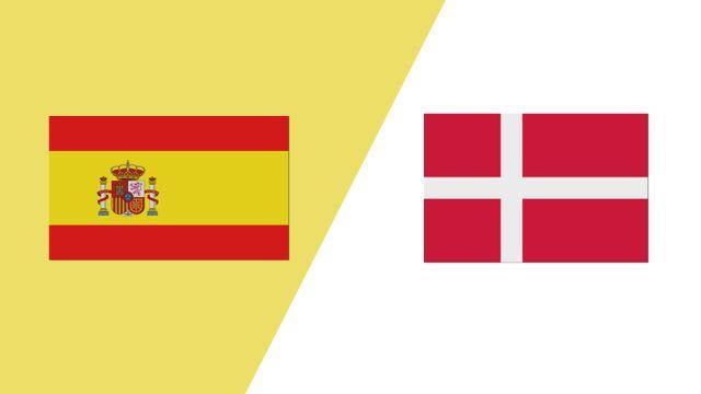 Spain vs. Denmark (2018 FIL World Lacrosse Championships)