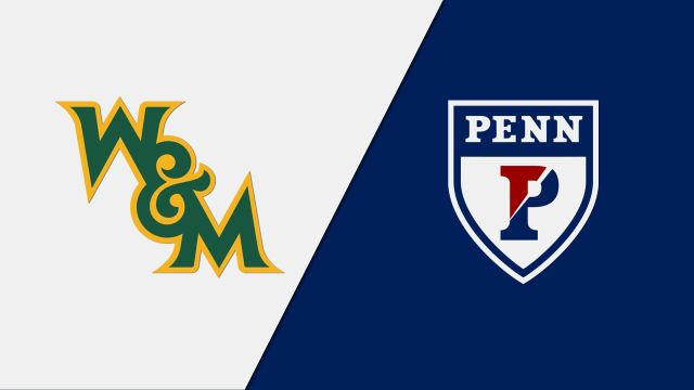 William & Mary vs. Pennsylvania (W Gymnastics)