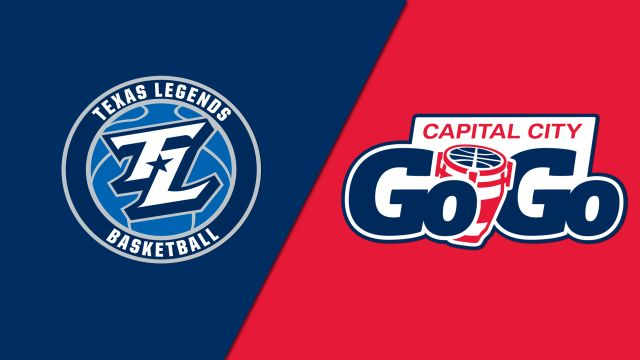 Texas Legends vs. Capital City Go-Go