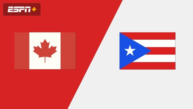 Canada vs. Puerto Rico (Group Phase)
