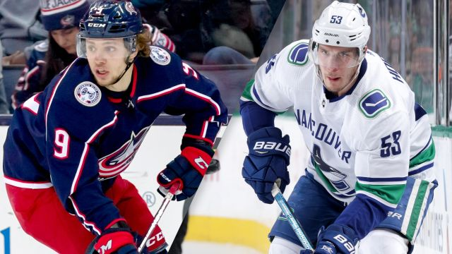 Columbus Blue Jackets vs. Vancouver Canucks