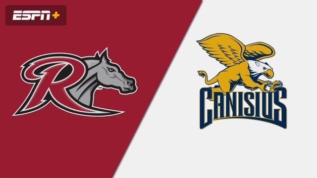 Rider vs. Canisius (W Soccer)