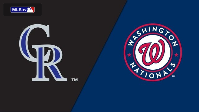 Colorado Rockies vs. Washington Nationals