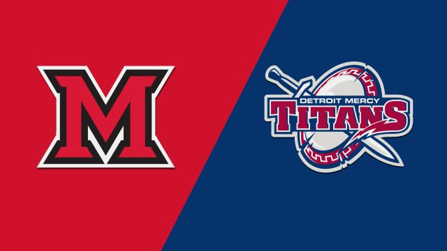 Miami (OH) vs. Detroit Mercy (W Basketball)