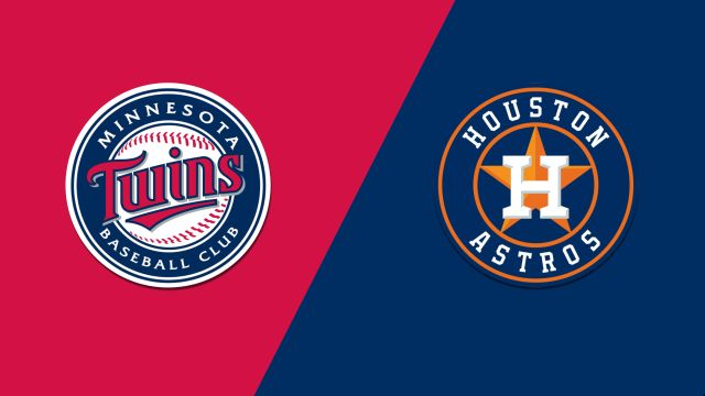 Minnesota Twins vs. Houston Astros