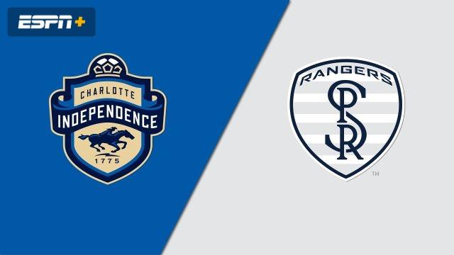 Charlotte Independence vs. Swope Park Rangers (USL Championship)