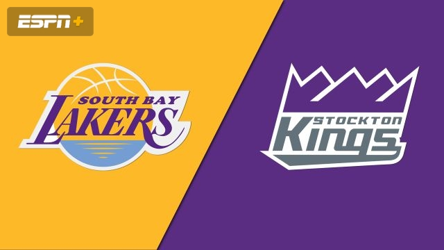 South Bay Lakers vs. Stockton Kings