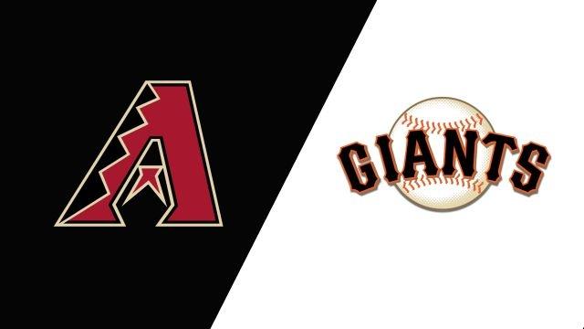 Arizona Diamondbacks vs. San Francisco Giants