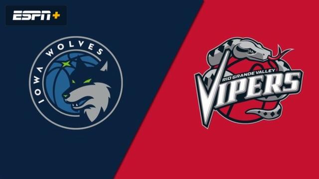 Iowa Wolves vs. Rio Grande Valley Vipers