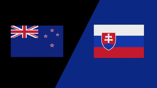 New Zealand vs. Slovakia (2018 FIL World Lacrosse Championships)
