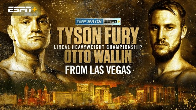 In Spanish - Fury vs. Wallin Main Card