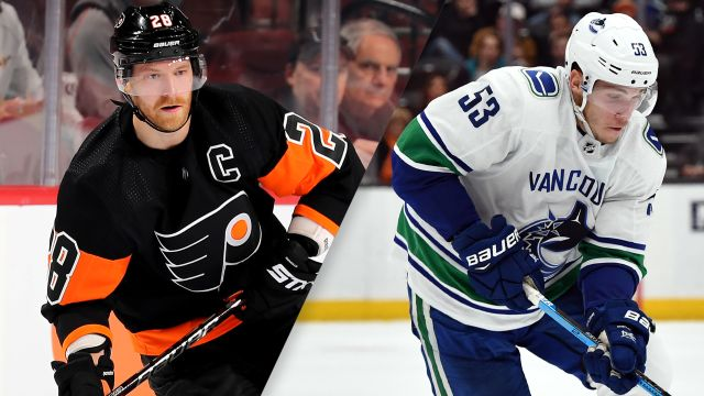 Philadelphia Flyers vs. Vancouver Canucks