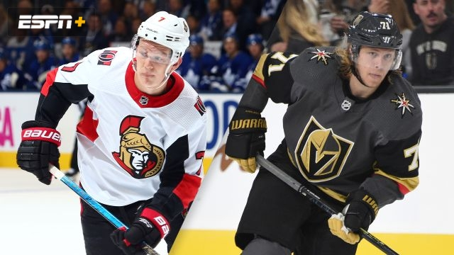Ottawa Senators vs. Vegas Golden Knights