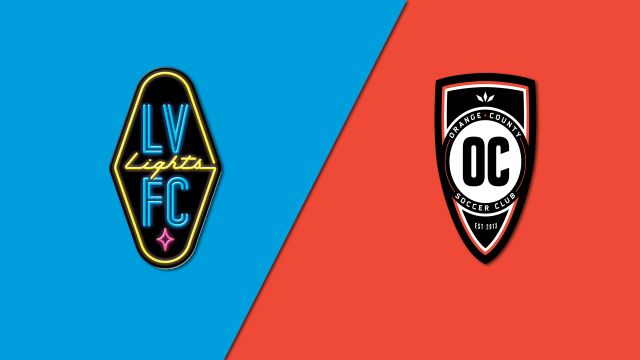 Las Vegas Lights FC vs. Orange County SC
