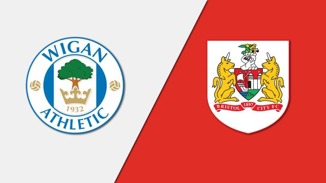 Wigan Athletic vs. Bristol City (English League Championship)