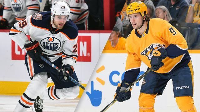Edmonton Oilers vs. Nashville Predators