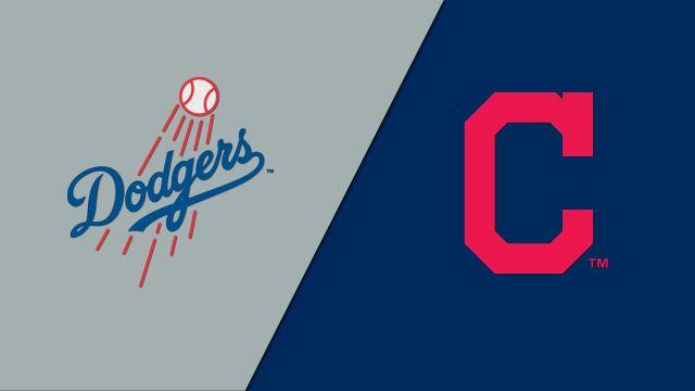 Los Angeles Dodgers vs. Cleveland Indians