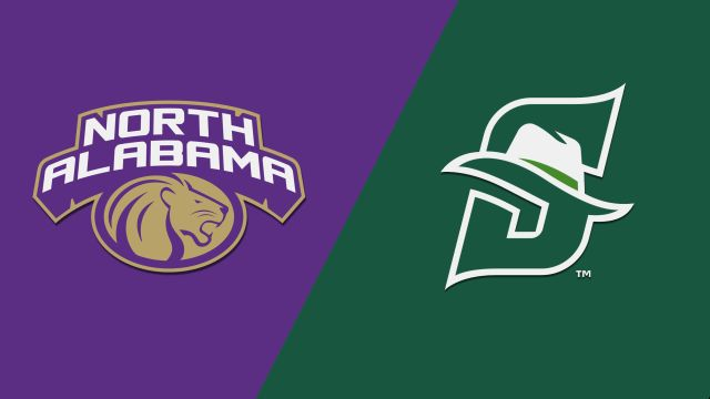 North Alabama vs. Stetson (M Basketball)