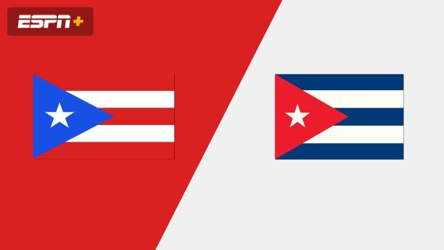 Puerto Rico vs. Cuba (Group Phase)