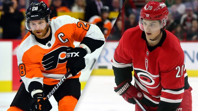 Philadelphia Flyers vs. Carolina Hurricanes