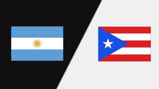 Argentina vs. Puerto Rico (FIBA World Cup Qualifier)