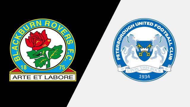 Blackburn Rovers vs. Peterborough United (English League One)