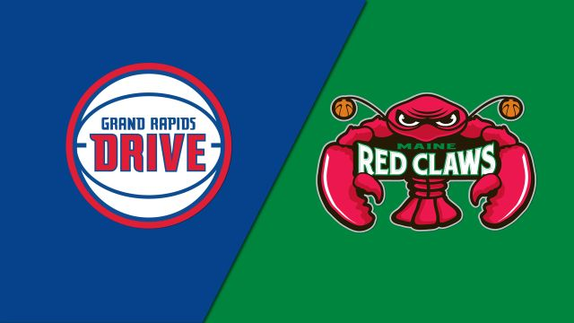 Grand Rapids Drive vs. Maine Red Claws