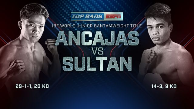 Top Rank Boxing on ESPN: Ancajas vs. Sultan Weigh-In