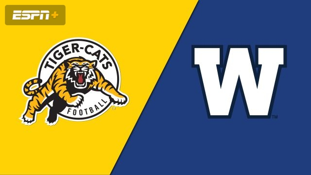 Hamilton Tiger-Cats vs. Winnipeg Blue Bombers (Canadian Football League)