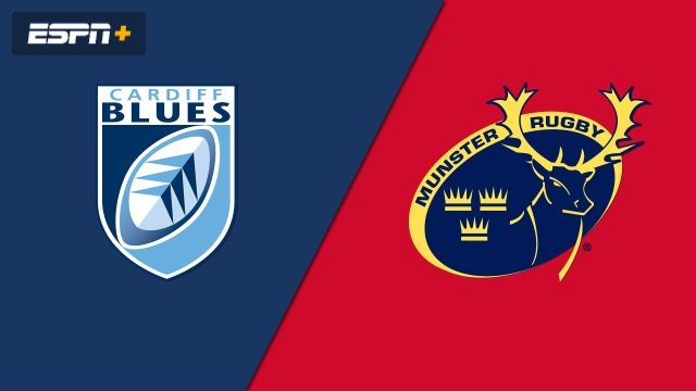 Cardiff Blues vs. Munster (Guinness PRO14 Rugby)