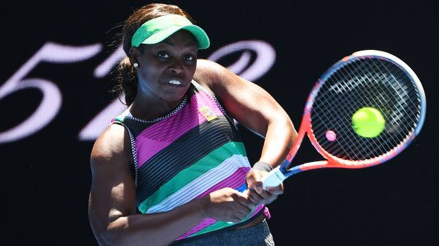 (5) Stephens vs. Babos (Women's Second Round)