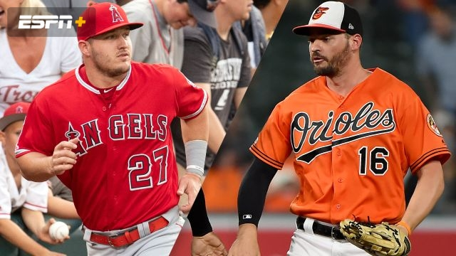 71cae0be1bc Los Angeles Angels vs. Baltimore Orioles
